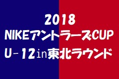 2018NIKEアントラーズCUP U-12㏌東北ラウンド一部結果掲載!アバンツァーレ仙台、盛岡太田東、大槌が本大会出場決定!