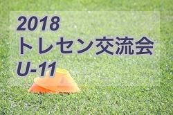 2018長崎県少年サッカーU-11トレセン交流大会 組合せ掲載 7/21.22開催!!