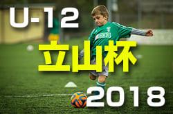 2018年度 立山杯 第38回 北日本招待少年サッカー富山大会U-12 8/14〜8/16開催決定!