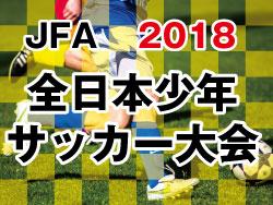 2018年度 JFA第42回 全日本少年サッカー大会 島根県大会